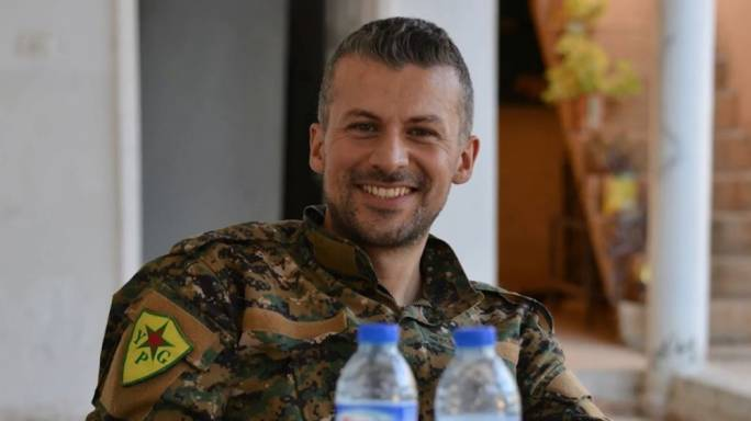 Mehmet Aksoy was working as a press officer, for the Kurdish People's Protection Units (YPG) when military base was hit by a surprise attack