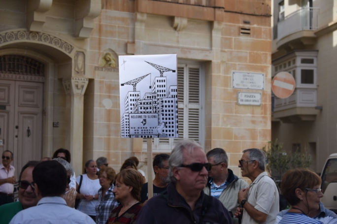 Residents demand remedial action for uncontrolled overdevelopment (Photo: Ivan M Consiglio/MediaToday)