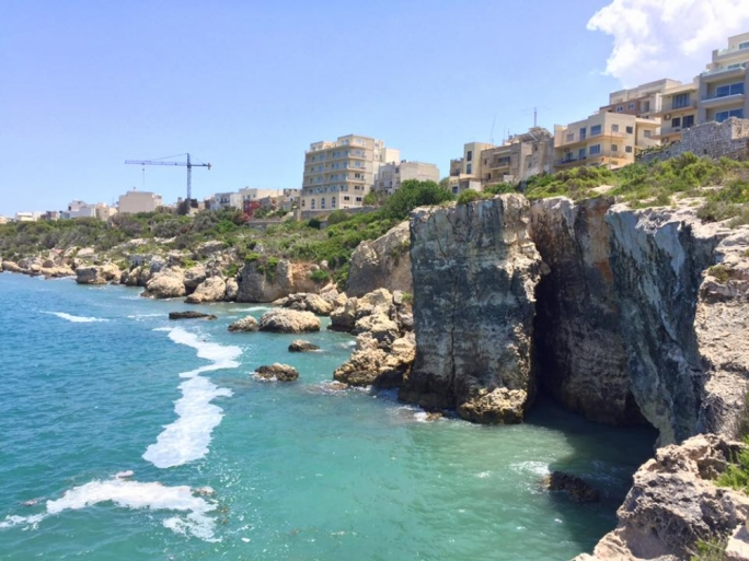 Slime re-appeared across the Maltese coast in recent days
