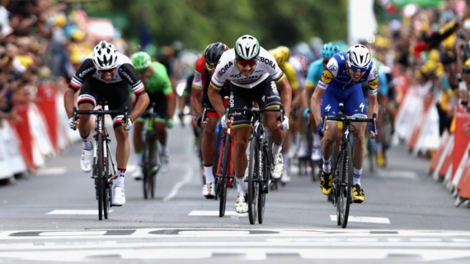 Peter Sagan wins at Longwy