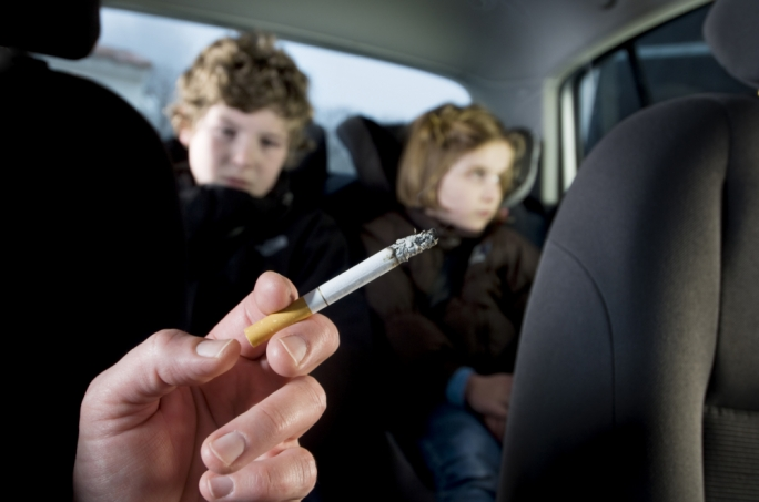 Smoking bans in vehicles with minors will be banned as of January 2017