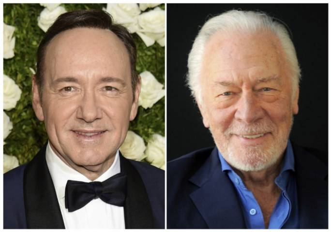 Kevin Spacey (left) and Christopher Plummer