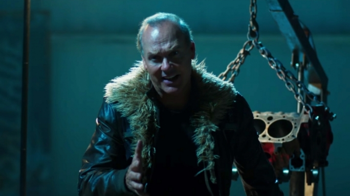 Working class villain: Michael Keaton