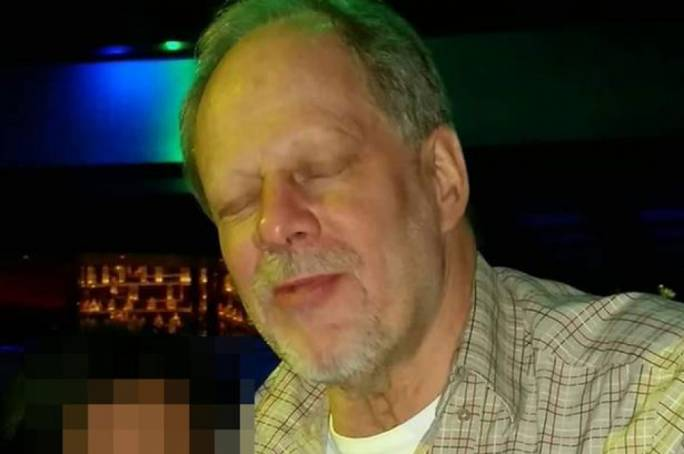 Stephen Paddock has been identified as the gunman (Image: The Daily Mirror)