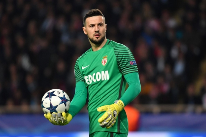 Danijel Subasic of Monaco in action