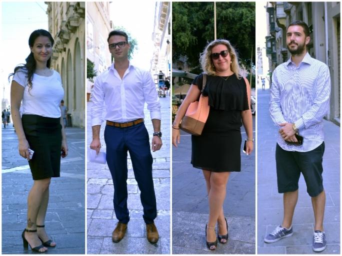Left to Right: Lisa Marie Schembri, David Farrugia, Jeanine Rizzo and Luke Xuereb