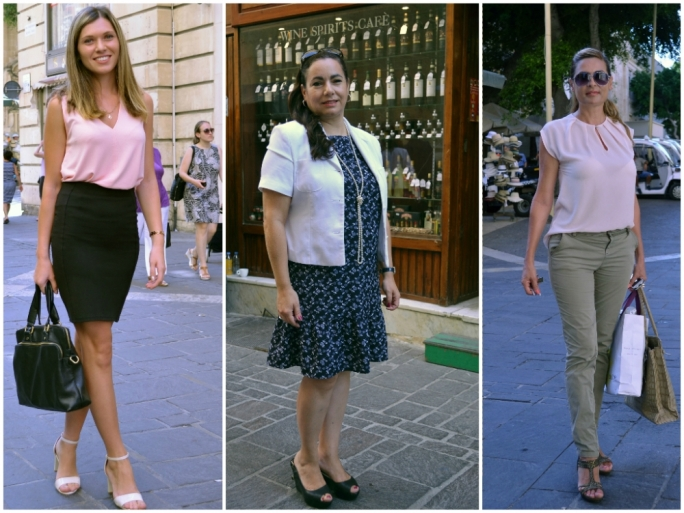 Left - Right Teona Mamasakhilal, Mariella Schembri Gonzi, Margaret Debono