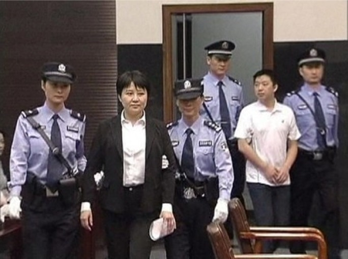 Gu Kailai and her aide, Zhang Xiaojun, did not contest the charges against them
