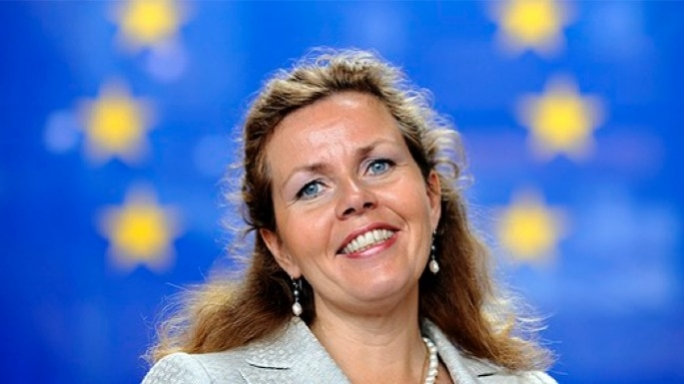MEP Cecilia Wikstrom called Tonio Borg a dinosaur who should not be allowed to become Commissioner.