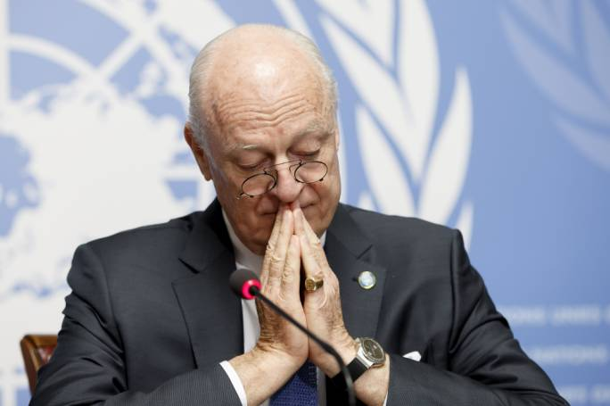 Syria talks were a 'golden opportunity missed', says United Nations envoy