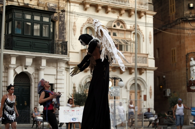 The project involves working with professionals from Malta and abroad, as well as new and current theatre companies and the various communities in Malta and Gozo
