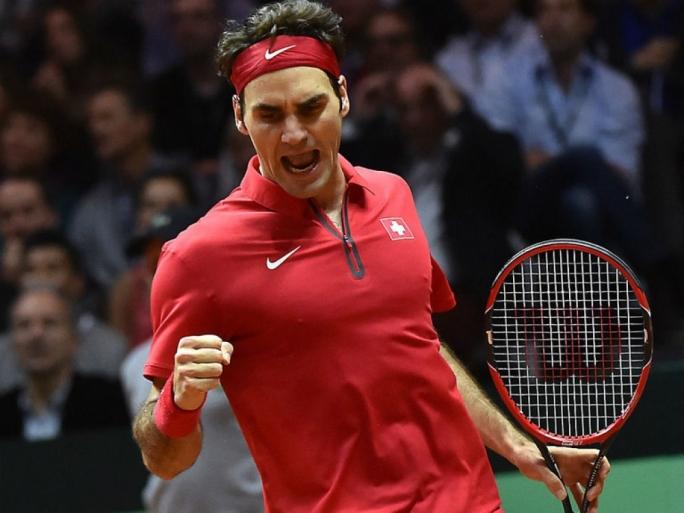 Roger Federer secured the Davis Cup title for Switzerland