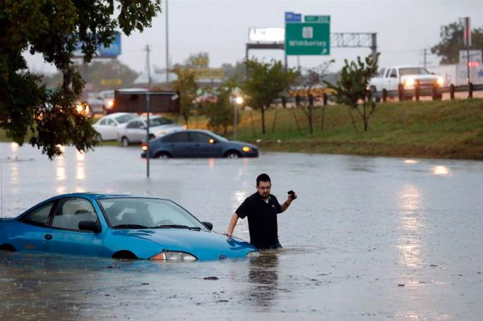 Thousands of Texans have been evacuated from their homes