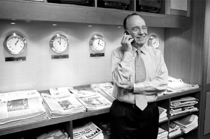 Tycoon Rupert Mudoch managed to acquire the Times group of newspapers in 1981 without a hearing before the mergers commission over his growing control of the British media.