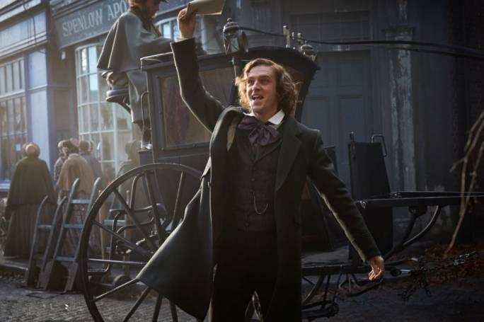 London calling: Dan Stevens is Charles Dickens