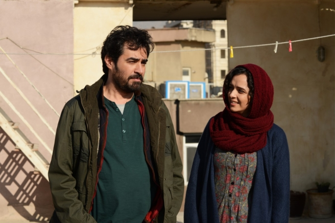 Emad (Shahab Hosseini) and Rana (Taraneh Alidoosti) are a couple of stage actors whose relationship grows frayed after a home invasion incident