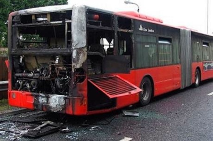 In 2004, all bendy-buses in London were taken out of service following three separate fires on the vehicles, BBC had reported.