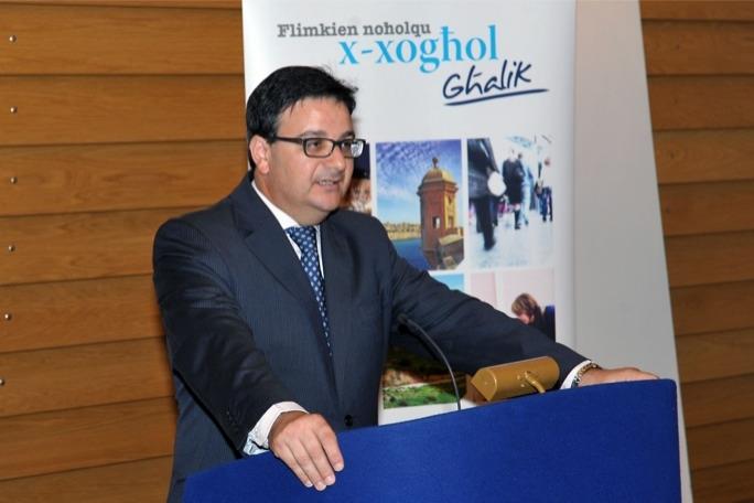 Finance minister Tonio Fenech
