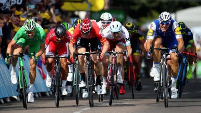 Marcel Kittel won stage 6 of the Tour de France