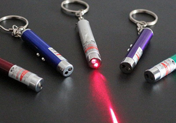 Toy laser pointers banned from market due to serious risks for consumers