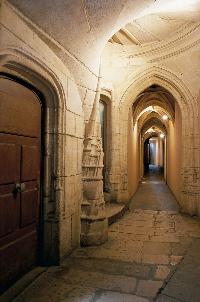 Traboules: The traboules of Lyon are underground passageways that gave the silk merchants the opportunity to transport their wares to market without marking from the elements