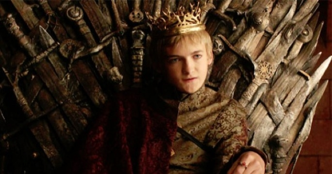 The king you love to hate: Jack Gleeson returns as newly anointed super-brat king Joffrey Baratheon.