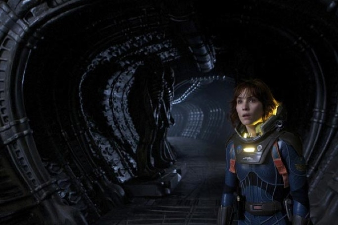 Noomi Rapace channels Sigourney Weaver's Ripley as director Ridley Scott returns to the Alien universe with this space-bound monster thriller.
