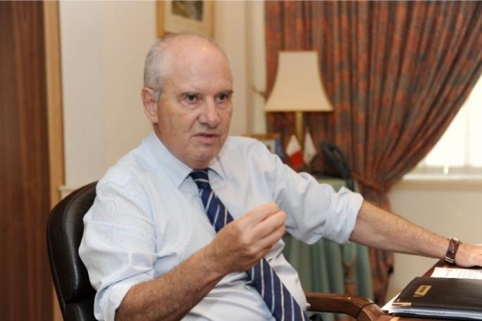Air Malta chairman Louis Farrugia
