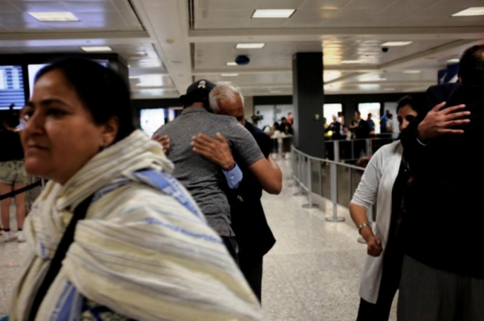 The ruling means grandparents and other relatives of people in the US can now visit
