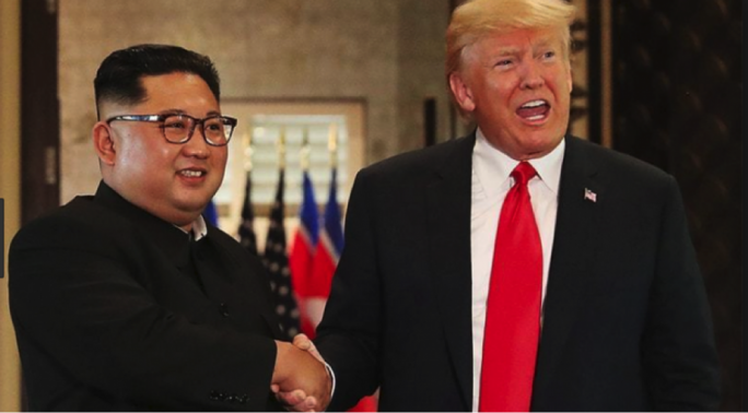 "Trump and Kim noted the symbolism of the moment in their document, calling it an ""epochal event of great significance in overcoming decades of tensions and hostilities"" between the countries."