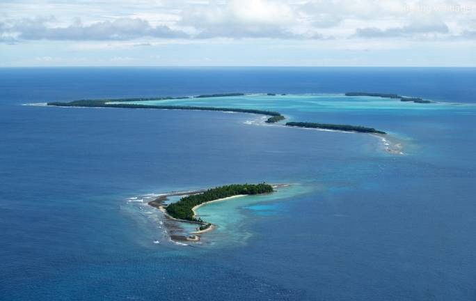 Tuvalu is among those islands facing an imminent risk of extinction