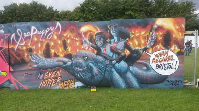 Upfest, Bristol, UK