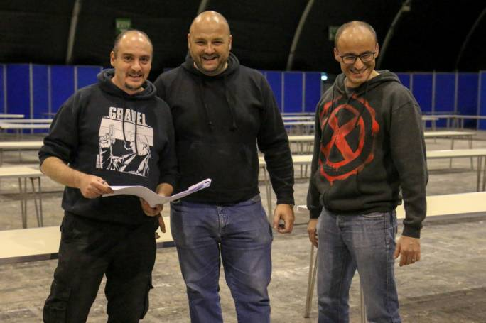 Part of the team behind Wicked Comics, organisers of the Malta Comic Con: Chris Le Galle, Fabio Agius and Christopher Muscat