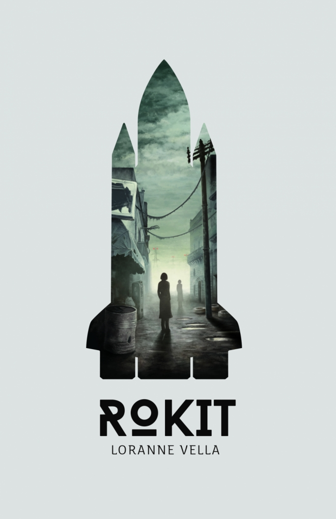 Other projects: Julinu has also recently designed the cover for Loranne Vella's novel Rokit, published by Merlin earlier this month