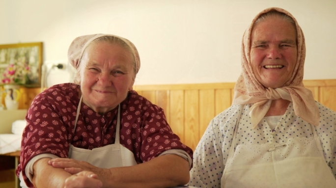 Still from Strudel Sisters by Jaina