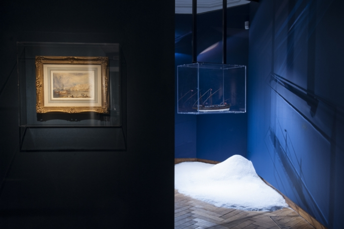 Malta – Land of Sea exhibits a series of deliberately selected objects aiming at presenting a representative portrayal of Maltese history through arefacts. Photo: BOZAR