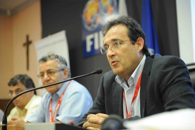 MFA president Norman Darmanin Demajo refused to divulge the names of players charged by UEFA on match-fixing allegations.