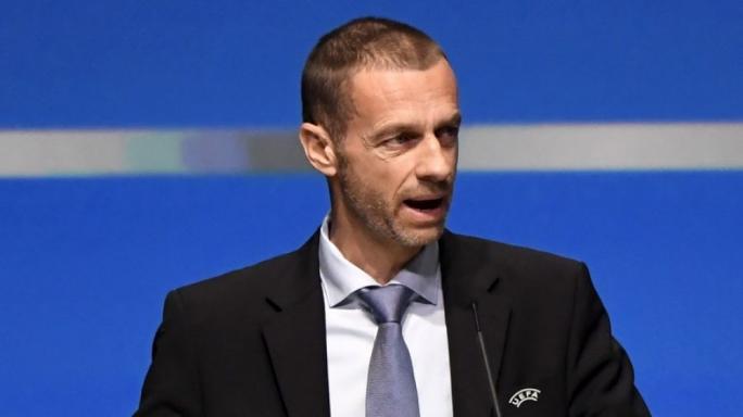 UEFA's President Alexander Ceferin