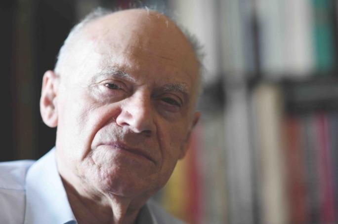 Ugo Mifsud Bonnici photographed by Ray Attard