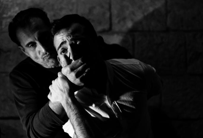 Mikhail Basmadjan and Stephen Mintoff in Unintended