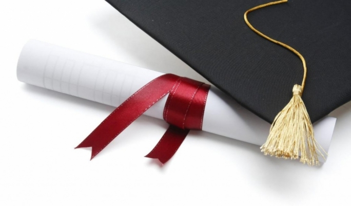 1,054 graduates came from the business, administration and law field