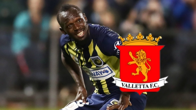 Jamaican sprinter Usain Bolt is playing football for Mariners in Australia