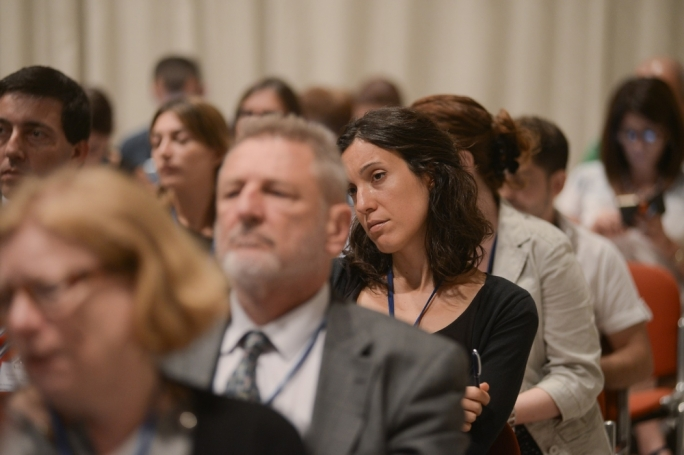 Participants at the 2014 conference Dialogue in the Med: Exploring Identity through Networks