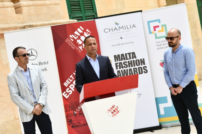 Malta Fashion Week, supported by the Valletta 2018 Foundation, is taking place between 22 and 27 May at Fort St Elmo, Valletta