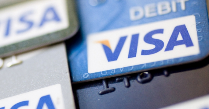 Visa services were temporarily disabled across Europe on Friday