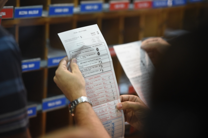 Malta's electoral law does not require voters to pre-register themselves as illiterate