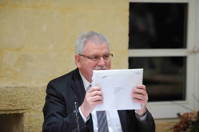 "Werner Langen said Keith Schembri sent a courier ""after me in the streets of Valletta to hand-deliver his refusal to meet with us"""