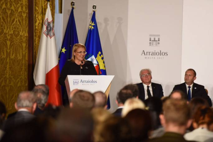 The Arraiolos Group is the largest meeting of non-executive EU presidents. [Photo: James Bianchi/MediaToday]