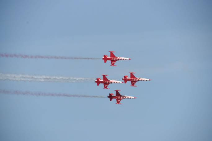 No less than 11 countries participated this weekend, making this the largest Malta International Airshow to take place since the first event in 1993 [Photo: James Bianchi/ MediaToday]