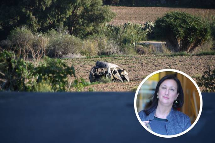 Daphne Caruana Galizia was killed in a car bomb on 16 October